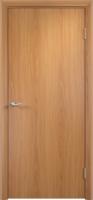 Дверь ламинированная Новинка глухая, миланский орех (светлая)