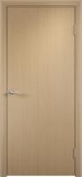 Дверь ламинированная Новинка глухая, беленый дуб