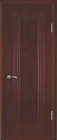Дверь пвх  Элегия межкомнатная глухая, итальянский орех (темная)