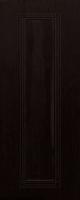 Дверь пвх  Элегия межкомнатная глухая, венге (черная)