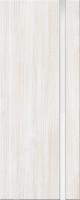 Дверь пвх Веста1 межкомнатная со стеклом триплекс (белое матовое), беленый дуб