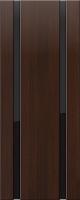 Дверь пвх Веста2 межкомнатная со стеклом триплекс (черное), венге (черная)