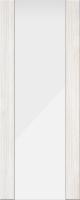 Дверь пвх Веста3 межкомнатная со стеклом триплекс (белое матовое), беленый дуб