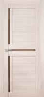 Дверь Экошпон Стиль  5 (S-5) межкомнатная со стеклом (стекло белое матовое), беленый дуб