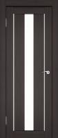 Дверь Экошпон Стиль  7 (S-7) межкомнатная со стеклом (стекло белое матовое), венге
