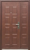 Входная дверь Молоток мелкий (D05), 1200x2050 мм
