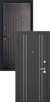 Входная металлическая дверь Прованс, венге