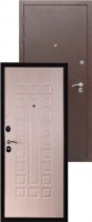 Входная металлическая дверь Аякс, беленый дуб