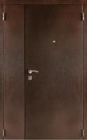 Входная металлическая дверь Тайгер Дуэт мет/мет