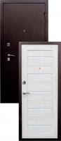 Входная металлическая дверь Виктория S-1, беленый дуб