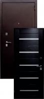 Входная металлическая дверь Премиум, венге