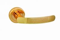 Ручка FRANCCO Н 705C цвет матовое золото для межкомнатной двери