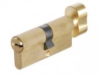 Цилиндр СК 6060 F цвет золото  ключ/вертушок для межкомнатной двери