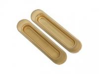 Ручка для раздвижных дверей SH010-SG-1 цвет матовое золото без фиксатора для межкомнатной двери