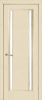 Дверь Опал шпонированная межкомнатная со стеклом, беленый дуб