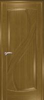 Дверь Новый Стиль шпонированная межкомнатная глухая, дуб