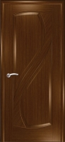 Дверь Новый Стиль шпонированная межкомнатная глухая, орех