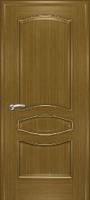 Дверь Наполеон-багет шпонированная межкомнатная глухая, дуб