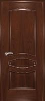 Дверь Наполеон-Элит шпонированная межкомнатная глухая, махагон