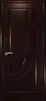 Дверь Уник шпонированная межкомнатная глухая, венге