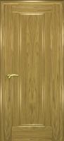 Дверь Кватро 00 шпонированная межкомнатная глухая, золотистый дуб