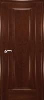 Дверь Кватро 00 шпонированная межкомнатная глухая, махагон