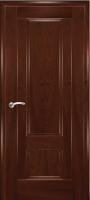 Дверь Модель 01 шпонированная межкомнатная глухая, махагон