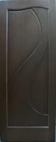 Дверь Филадельфия шпонированная межкомнатная глухая, венге