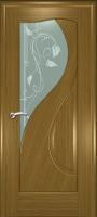 Дверь Филадельфияшпонированная межкомнатная со стеклом, дуб В НАЛИЧИИ