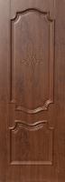 Дверь пвх  Пальмира межкомнатная глухая,  темный дуб