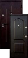 Входная металлическая дверь Строй Гост 7-2, венге