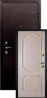 Входная металлическая дверь Пальмира , дуб ивори