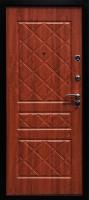Входная металлическая дверь Эко золотистый дуб