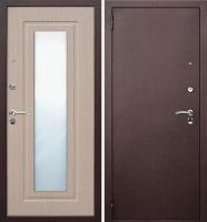 Входная металлическая дверь Царское зеркало Беленый дуб
