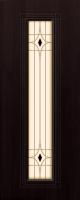 Дверь пвх  Элегия межкомнатная со стеклом В КОМПЛЕКТЕ В НАЛИЧИИ