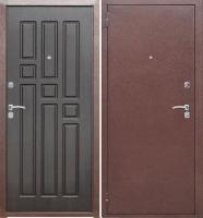 Входная металлическая дверь Гарда 8мм, венге