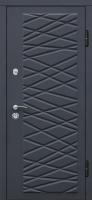 Входная металлическая дверь Графит 4D