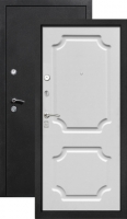 Входная металлическая дверь Толстяк белый матовый